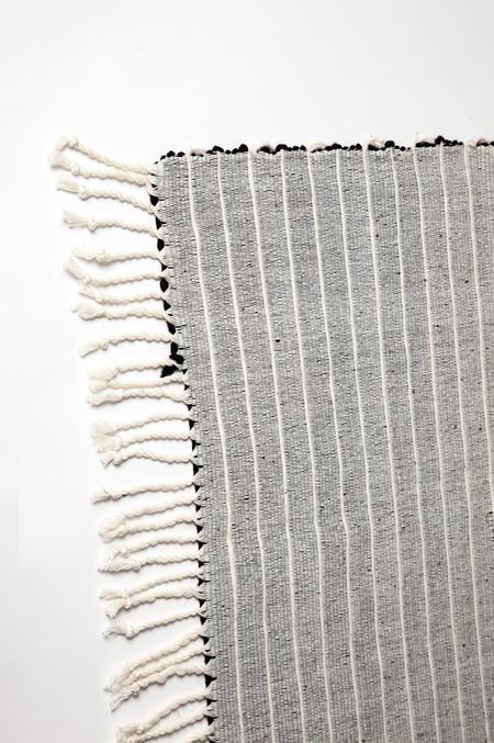 Caroline Hurley Francisco Rug - Black Stripe