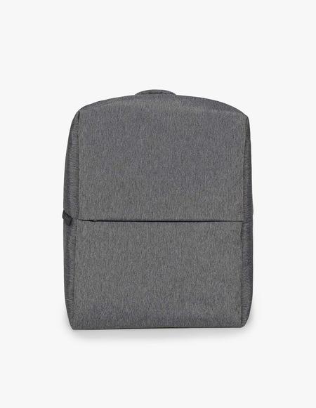 Côte & Ciel Rhine New Flat Backpack - Black Melange