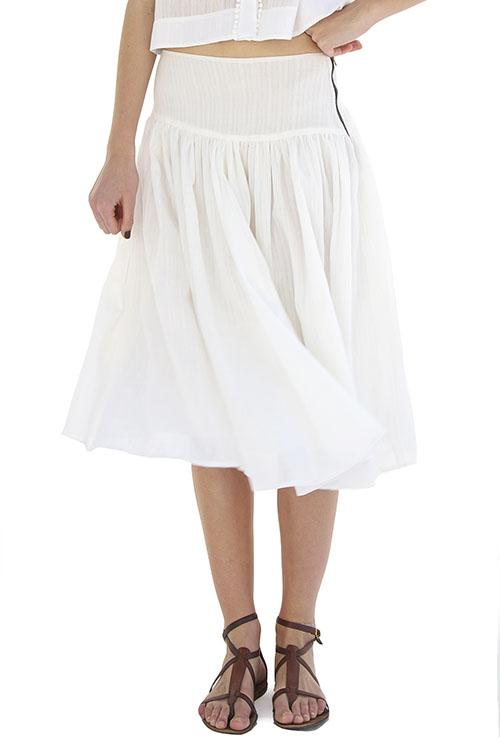 Heidi Merrick Venice Midi Skirt | Garmentory