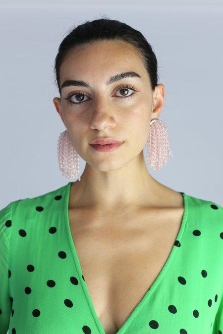 Rachel Comey Arcadia Earrings - Clear Pink