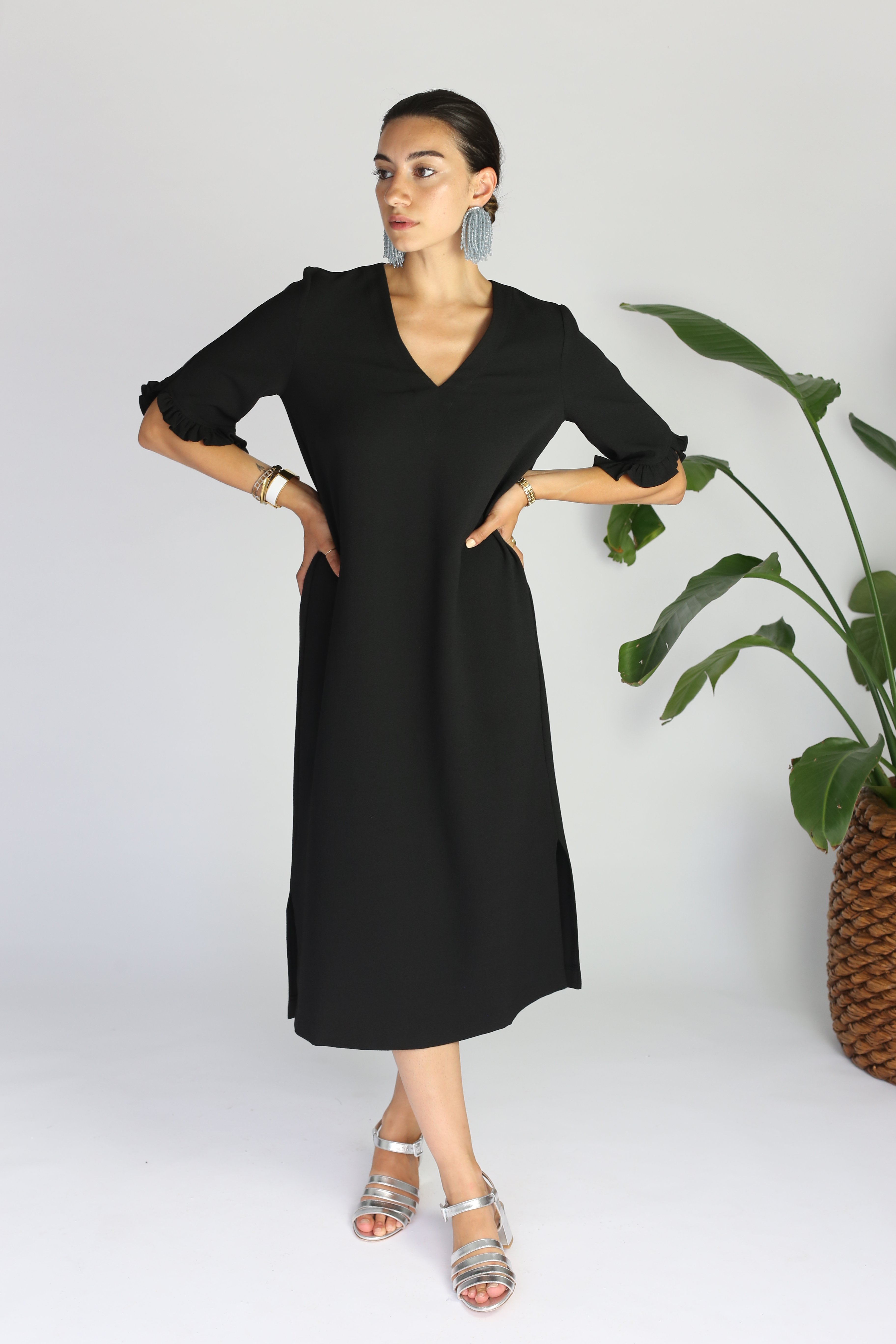 7028ed0d204dc Ganni Clark Dress   Garmentory