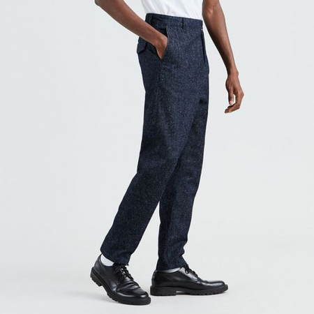 Levi's Made & Crafted Studio Taper Trouser - Neppy Denim Blues