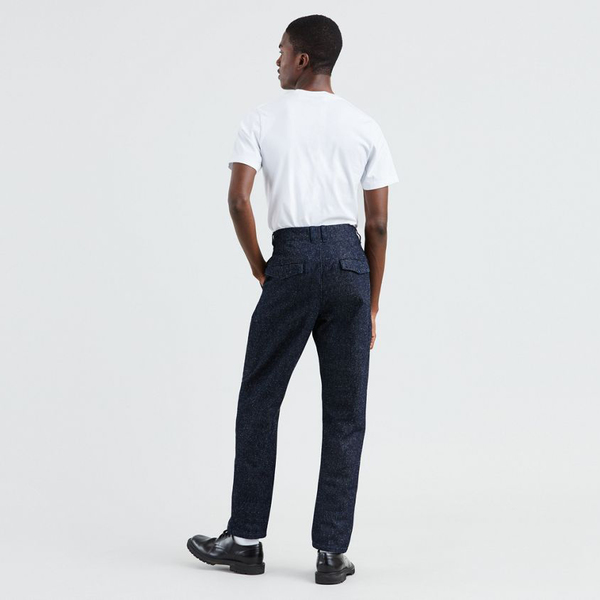 Levi's Made & Crafted Studio Taper Trouser - Neppy Denim Blues