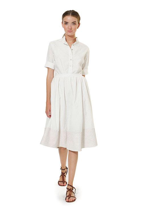Heidi Merrick Dakhla Cutout Midi Dress