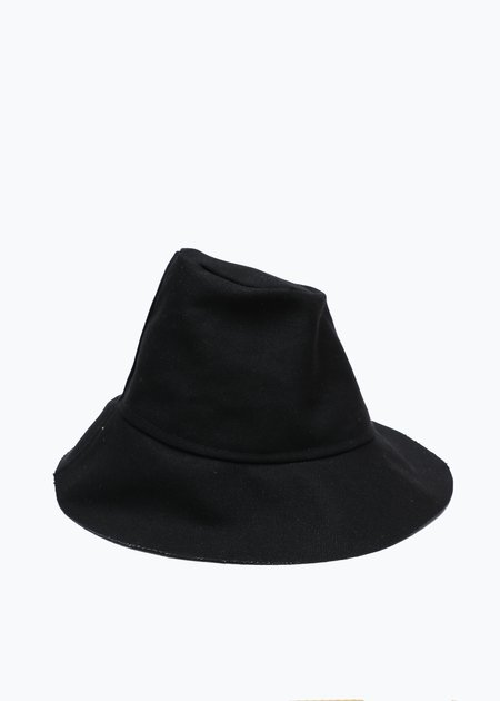 Gravel & Gold Tam Hat - Black