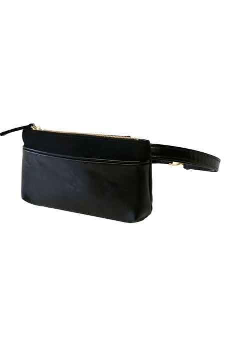 HFS Collective Pocket Bum Bag - Black