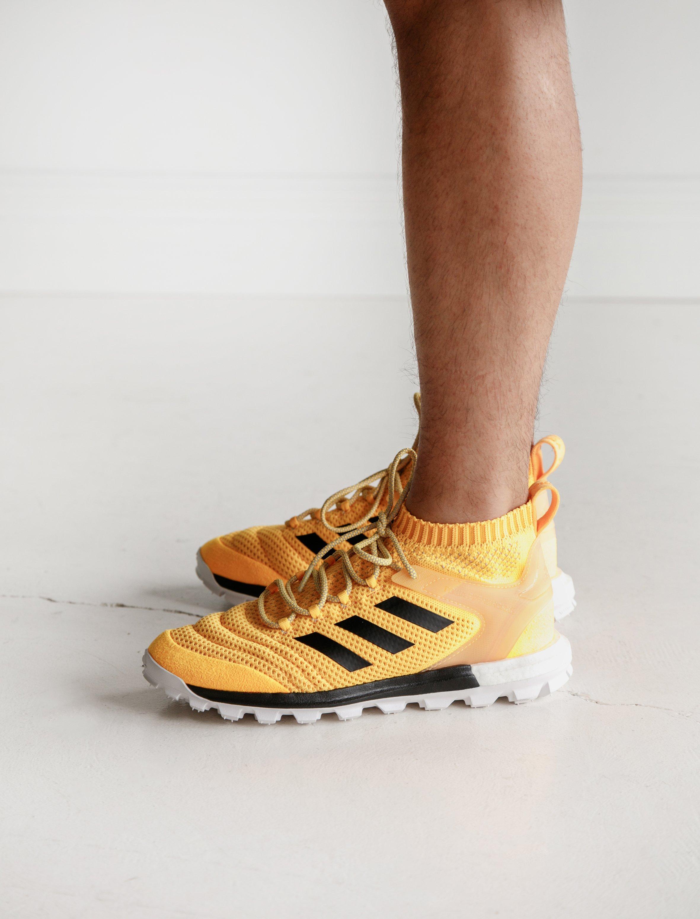 sports shoes 6e94b 74968 Gosha Rubchinskiy Adidas Copa PK Mid Sneaker Orange