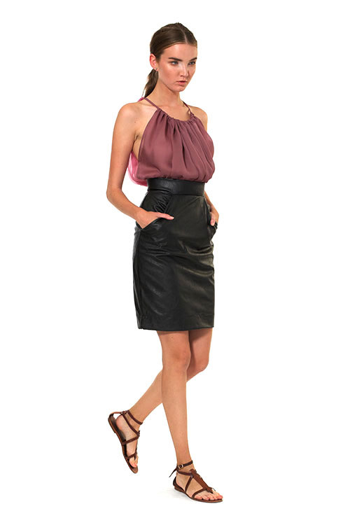 Heidi Merrick Carcan Pencil Skirt