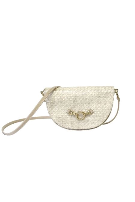 HFS Collective Half-moon Bag - White Sand