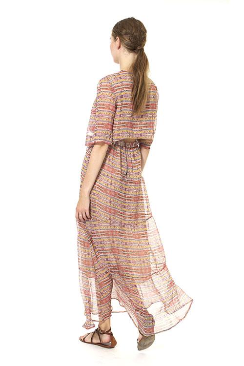 Heidi Merrick Sahara Cutout Tea Dress