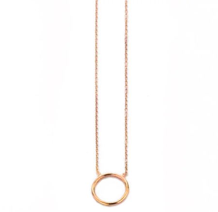 Hortense By Myself Necklace - ROSE GOLD