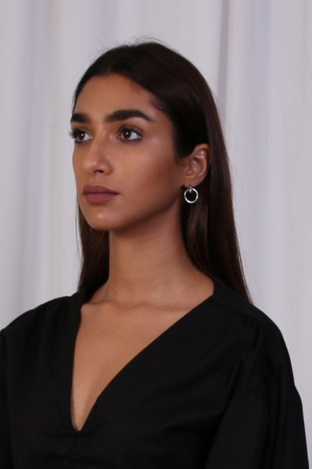 Common Muse Odette Earrings - Silver