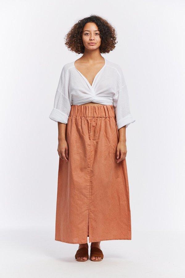 41e6698033 Miranda Bennett Linen Paper Bag Skirt - Sonora. sold out. Miranda Bennett
