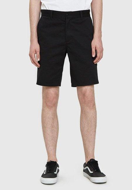Obey Working Man Twill Shorts - Black