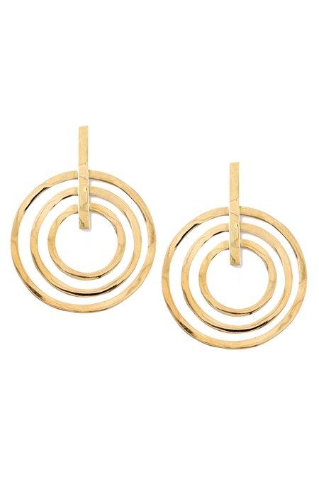 SOKO Sundial Earring - BRASS