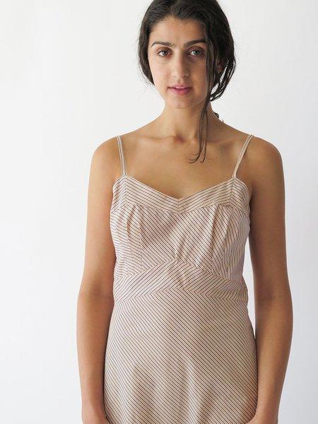Erica Tanov lola dress - awning stripe