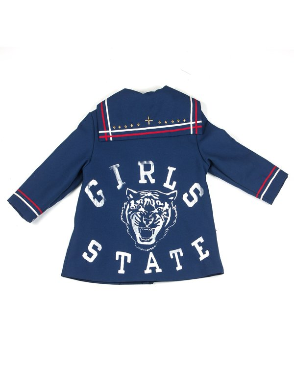 3716483c9f81 Kids L.A.S Collective Vintage Hand-painted Girls State Coat - 3T ...