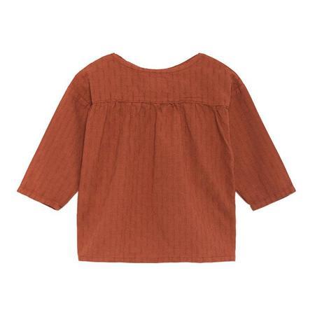 kids baby Bobo Choses Long Sleeved bittersweet Shirt - Brown