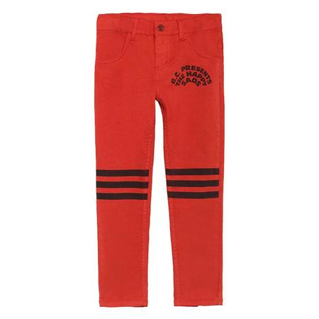 kids Bobo Choses Slim Fit Pants - Red