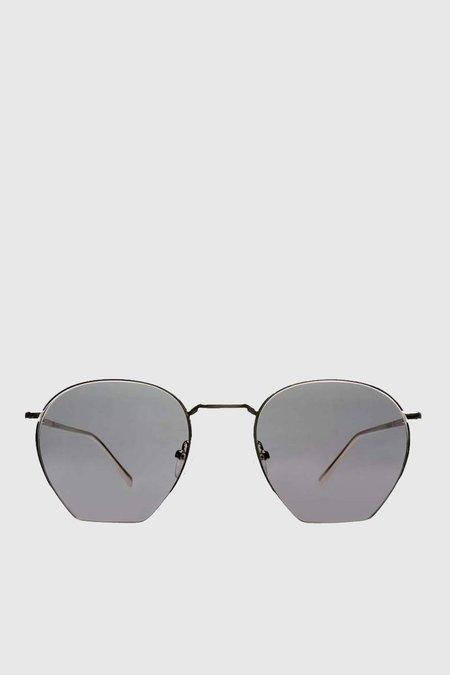 Unisex Age Eyewear Wage Sunglasses - Silver/Grey Optic