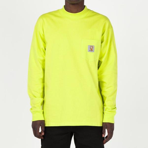 c2df48f98c7e9b Brain Dead x Carhartt WIP Swan Long Sleeve T-shirt - Lime Green. sold out.  CARHARTT WIP