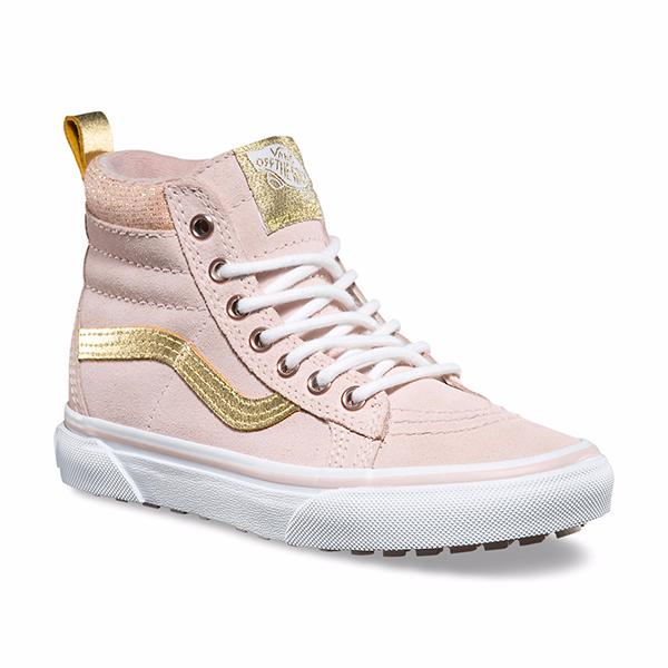 1d5a1eb171 Kids Vans Sk8-Hi MTE Sneaker - Sepia Pink Gold