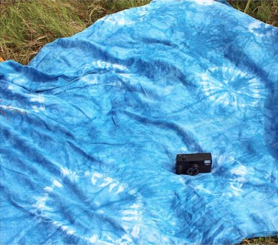 Miranda Bennett Linen Resist Dyed Home Textile