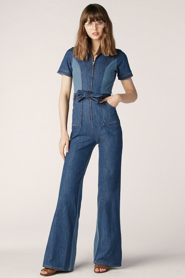 14a5d722729d Stoned Immaculate Blue Jean Baby Denim Jumpsuit