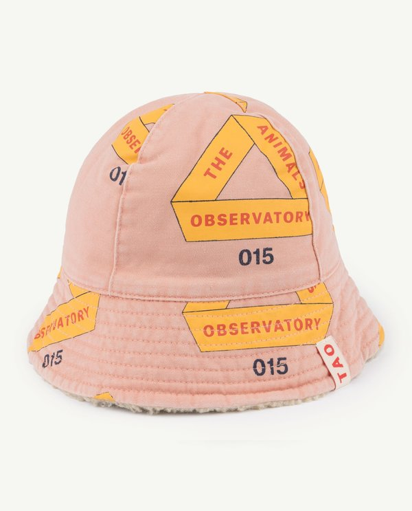 Kids Unisex The Animals Observatory Baby Starfish Hat - Rose Triangles
