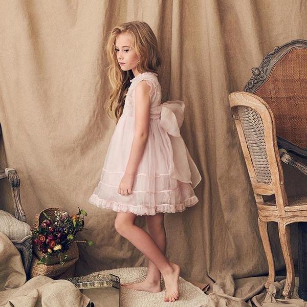 ddb2607dd35 KIDS Love By Nellystella Flora Dress - Pink Orchid Ice