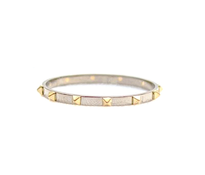 E.M. Gold on Gold Petite Spike Ring