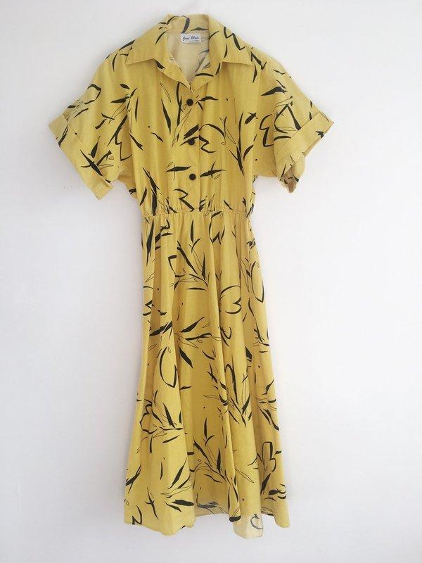 487d763f97d Vintage le Market Robe à Motifs