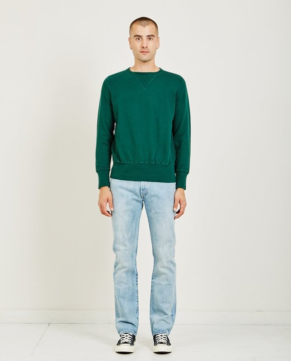 c09468db8 Levi s Vintage Clothing BAY MEADOWS SWEATSHIRT - BOTTLE GREEN. sold out. Levi s  Vintage