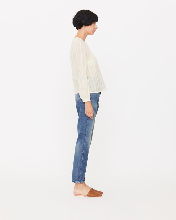 Esby Elaina Blouse - Natural