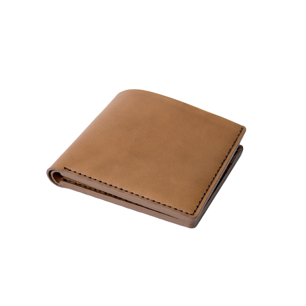 MAKR Open Billfold Wallet - TOBACCO