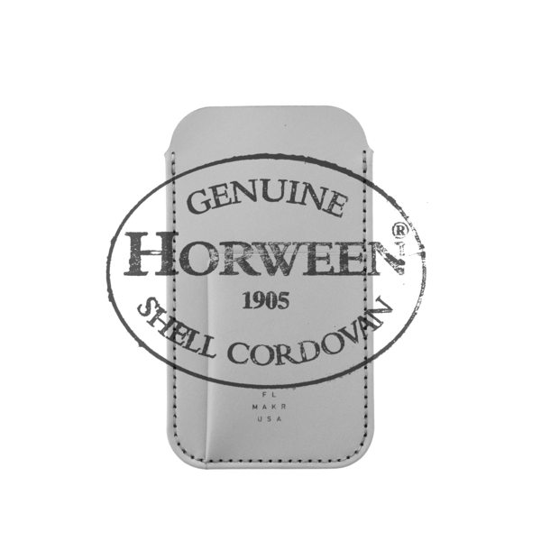 MAKR iPhone X Card Sleeve Cordovan