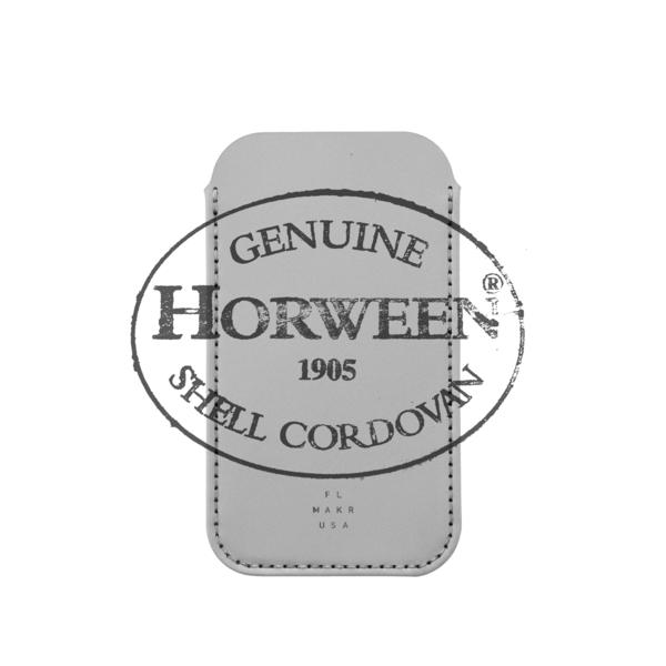 MAKR iPhone X Sleeve Cordovan