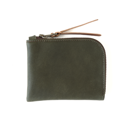 MAKR Zip Luxe Wallet - Smooth Moss