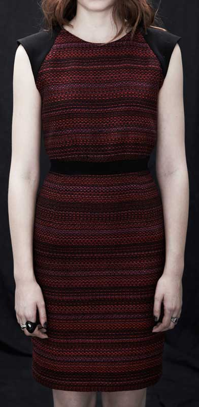 Eve Gravel Kahla Dress