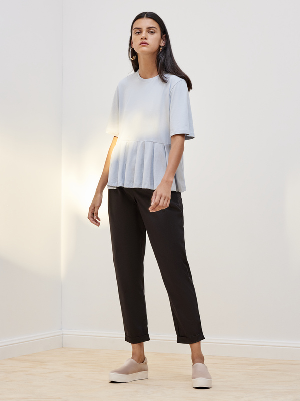 Kowtow Building Block Pleated Tee