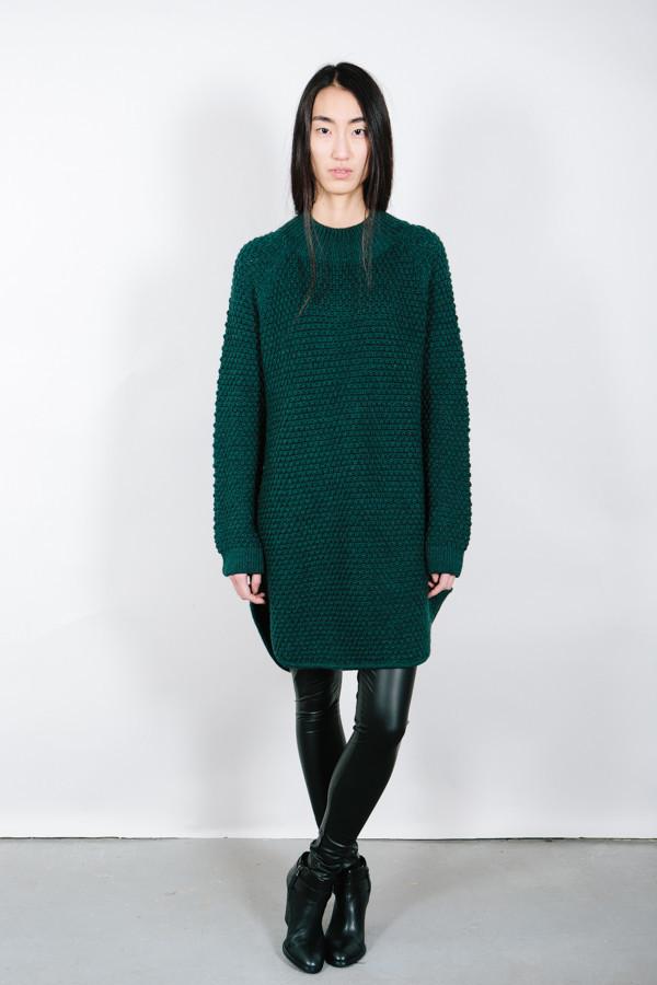 Ali Golden Oversized Sweater Dress | Garmentory