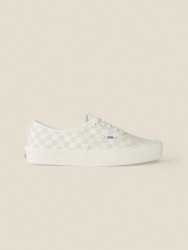 6f9e794f0954 Vans Vault OG Authentic LX Sneakers - Checkerboard Marshmallow ...