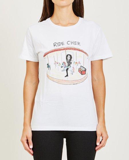 Unfortunate Portrait Ride Cher Tee