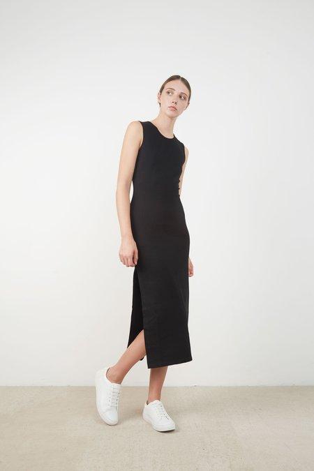 Hemsmith AIDEN DRESS - BLACK