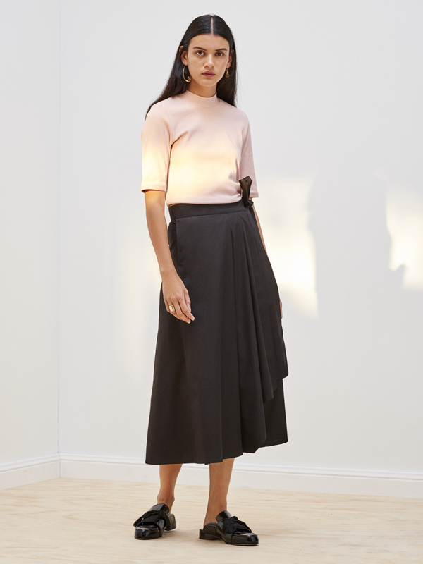 Kowtow Building Block Rib Fitted Top