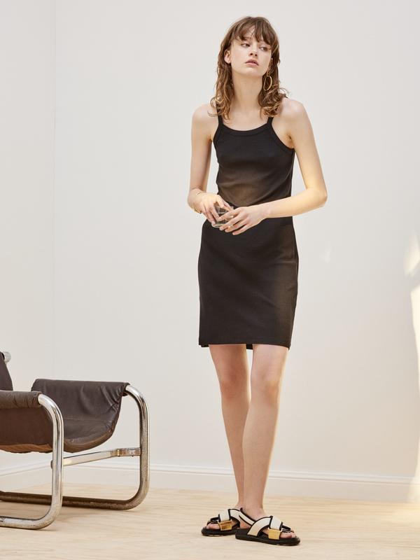 Kowtow Building Block Rib Singlet Dress