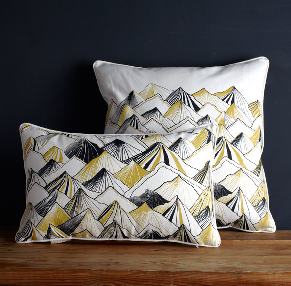 Nell & Mary  Mountain Pillow