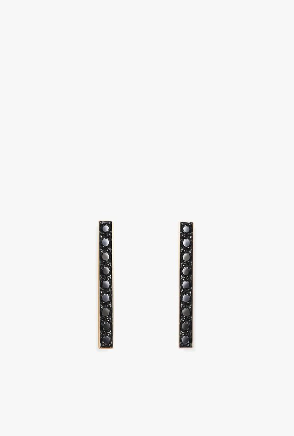 4401129fd Selin Kent Charlotte Stud Earrings - 14k Rose Gold/Black Diamond ...