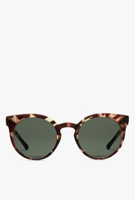 KOMONO Lulu Sunglasses - Crystal Giraffe
