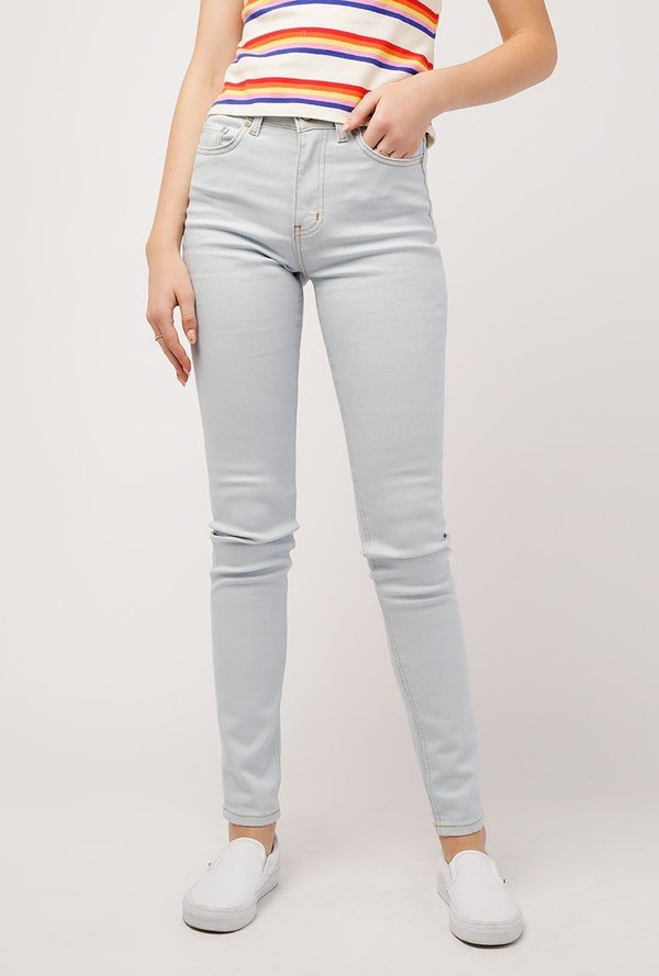 77d0fd713 Naked & Famous Power Stretch High Skinny Jean - Powder Blue | Garmentory